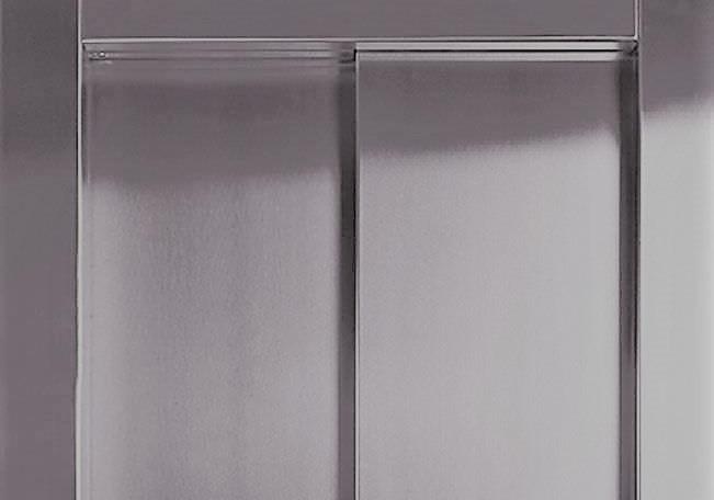apertura unilateral 2 hojas para ascensores