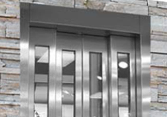 apertura central 4 hojas para ascensores