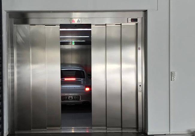 apertura central 6 hojas para ascensores