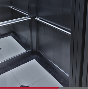 Cabinas para ascensores DM60