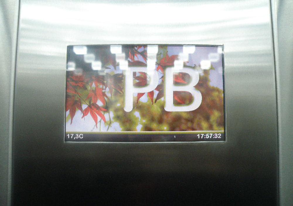 LCD para ascensores
