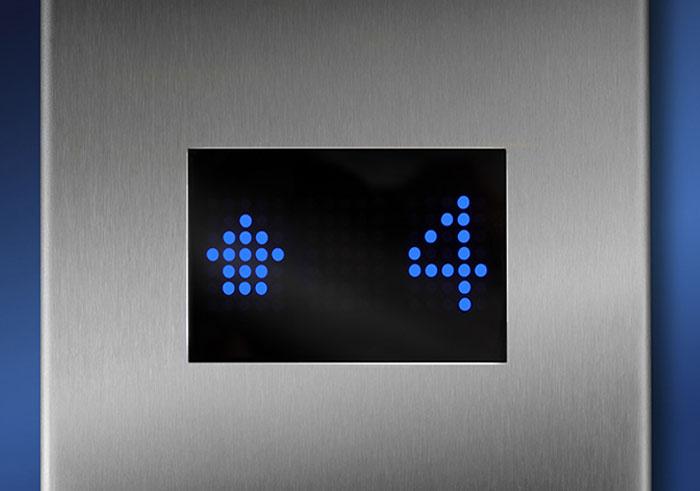 matriz de puntos para ascensores