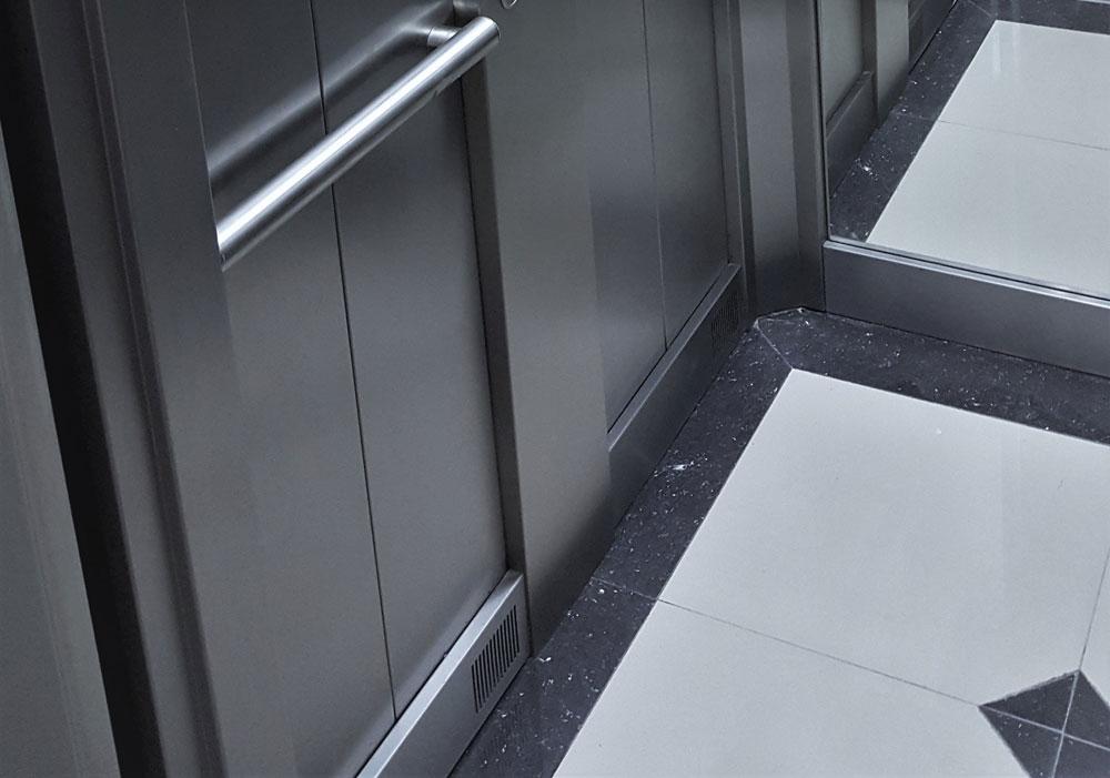 cabinas metalicas para ascensores