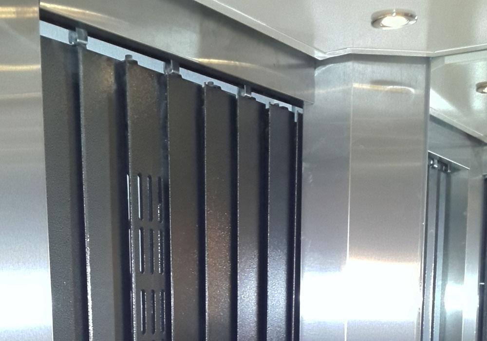 puerta tablilla para ascensores