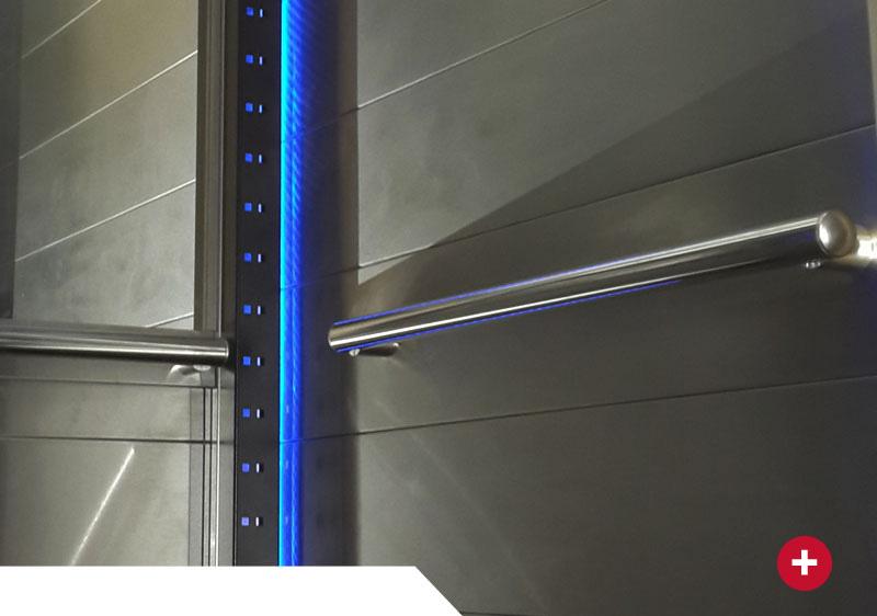 cabinas floyd para ascensores